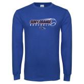 Royal Long Sleeve T Shirt-Baseball Design