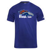 Russell Core Performance Royal Tee-Primary Logo