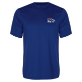Performance Royal Tee-Primary Logo