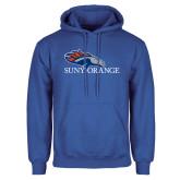 Royal Fleece Hoodie-SUNY Orange Colt Logo