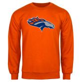Orange Fleece Crew-SUNY Orange Colt