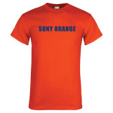 Orange T Shirt-SUNY Orange Word Mark