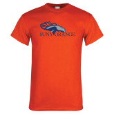 Orange T Shirt-SUNY Orange Colt Logo
