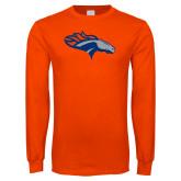 Orange Long Sleeve T Shirt-SUNY Orange Colt