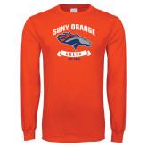 Orange Long Sleeve T Shirt-SUNY Orange Colts Graphic