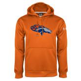 Under Armour Orange Performance Sweats Team Hoodie-SUNY Orange Colt