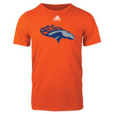 Adidas Orange Logo T Shirt-SUNY Orange Colt