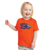 Toddler Orange T Shirt-Primary Logo