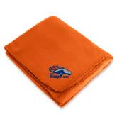 Orange Arctic Fleece Blanket-Primary Logo