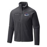 Columbia Full Zip Charcoal Fleece Jacket-Primary Logo