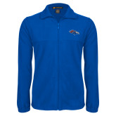 Fleece Full Zip Royal Jacket-SUNY Orange Colt
