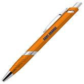 Milo Orange Pen w/Blue Ink-SUNY Orange Word Mark