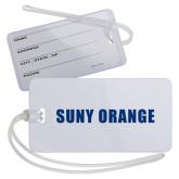 Luggage Tag-SUNY Orange Word Mark