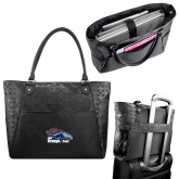Sophia Checkpoint Friendly Black Compu Tote-Primary Logo