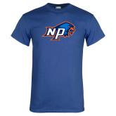 Royal T Shirt-NP Hawk Head