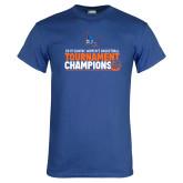 Royal T Shirt-2019 Womens Basketball Conference Champions