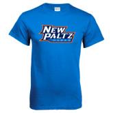 Royal T Shirt-New Paltz Hawks
