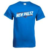 Royal T Shirt-New Paltz Slanted w/ Logo