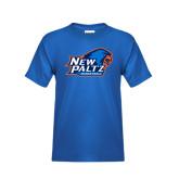 Youth Royal T Shirt-Basketball