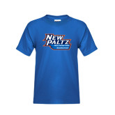 Youth Royal T Shirt-Wellness and Recreation