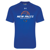 Under Armour Royal Tech Tee-New Paltz Volleyball Stacked