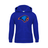 Youth Royal Fleece Hoodie-Hawk Head
