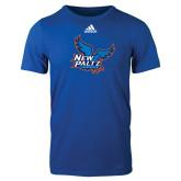 Adidas Royal Logo T Shirt-Official Logo