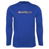Performance Royal Longsleeve Shirt-New Platz Wordmark
