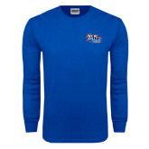 Royal Long Sleeve T Shirt-Wellness and Recreation