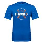 Performance Royal Tee-Hawks Baseball w/ Seams