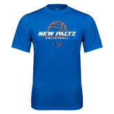 Performance Royal Tee-New Paltz Volleyball Stacked