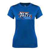 Ladies Syntrel Performance Royal Tee-Wellness and Recreation