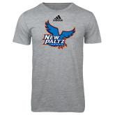 Adidas Sport Grey Logo T Shirt-Official Logo