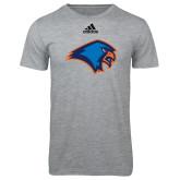 Adidas Sport Grey Logo T Shirt-Hawk Head