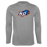 Performance Steel Longsleeve Shirt-NP Hawk Head