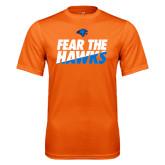 Performance Orange Tee-Fear The Hawks