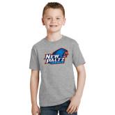 Youth Grey T-Shirt-Head Word Mark