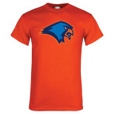 Orange T Shirt-Hawk Head