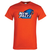 Orange T Shirt-Head Word Mark