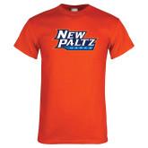 Orange T Shirt-New Paltz Hawks