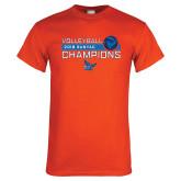 Orange T Shirt-2018 SUNYAC Volleyball Champions