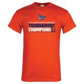 Orange T Shirt-2019 Womens Basketball Conference Champions