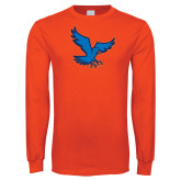 Orange Long Sleeve T Shirt-Hawk