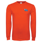 Orange Long Sleeve T Shirt-Wellness and Recreation