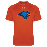 Under Armour Orange Tech Tee-Hawk Head