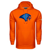 Under Armour Orange Performance Sweats Team Hoodie-Hawk Head