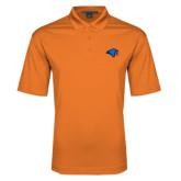 Orange Performance Fine Jacquard Polo-Hawk Head