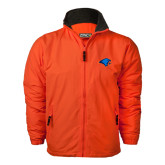 Orange Survivor Jacket-Hawk Head
