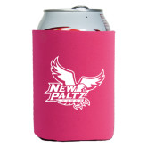 Neoprene Hot Pink Can Holder-Official Logo