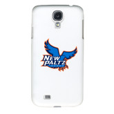 White Samsung Galaxy S4 Cover-Official Logo